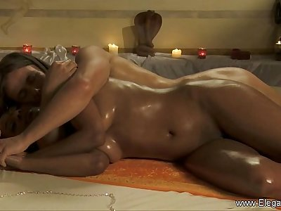 Intimate Anal Massage For Bronze Beauty
